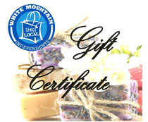 Instore Gift Certificate