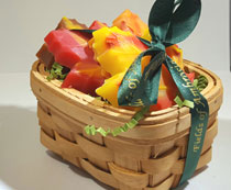 Small Leaf Soap Gift Basket