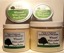 Whipped Wild Crafted Shea Butter- Unscented