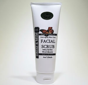 Fields of Ambrosia Jojoba Facial Scrub - 4 oz Plastic Tube
