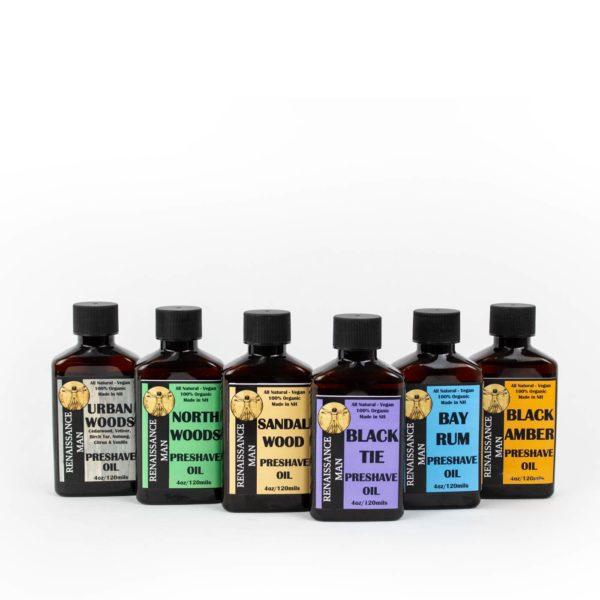 Preshave Oil