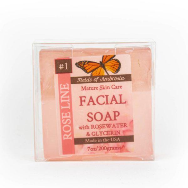 Rosewater Glycerin Soap