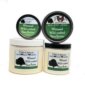 Whipped Wild Crafted Shea Butter