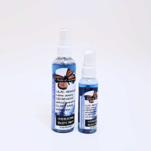 Hydrating Body Mist - White Mountain Lilacs Scent