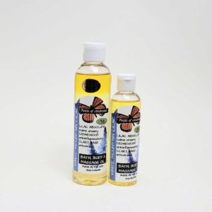 Bath, Body & Massage Oil - White Mountain Lilacs Scent