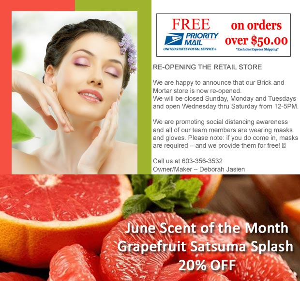 20% OFF June Scent of the Month