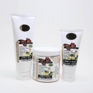 Body Butter Cream - Morrocan Sandalwood Scent