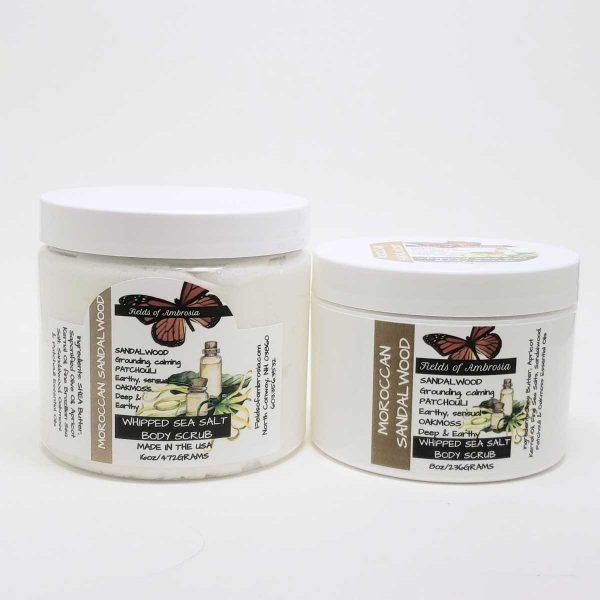 Sea Salt Body Polish - Moroccan Sandalwood Scent