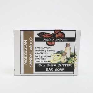 Cold-Process Bar Soaps 4-5oz - Morrocan Sandalwood Scent