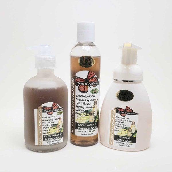 Hand & Body Wash - Moroccan Sandalwood Scent