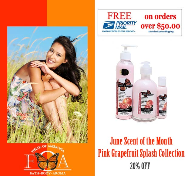 June Scent of the Month 20% Off